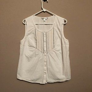 Croft & Barrow Large White top